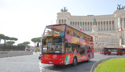 Hop On Off Bus Rome